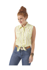 Wrangler Wrangler Essentials Sleeveless Stripe Top