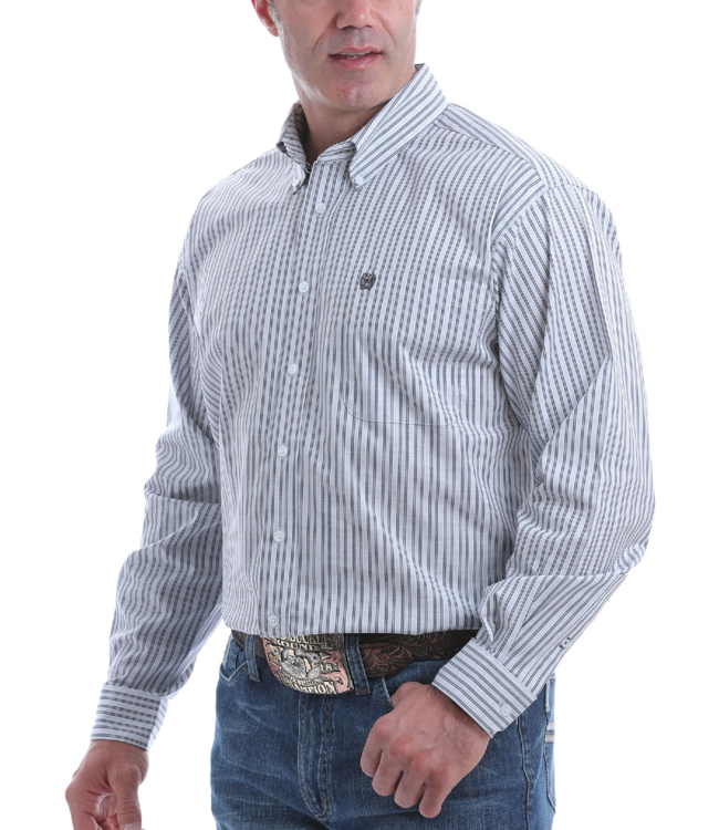Cinch Classic Fit Stretch Plaid Shirt