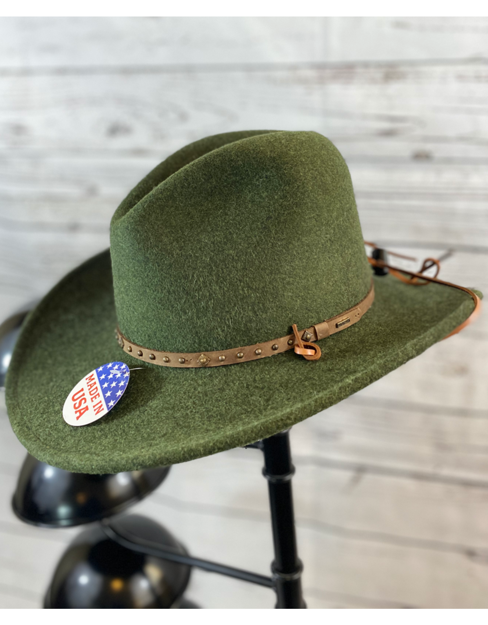 Stetson Hats Stetson Lonesome Trail Crushable Hat