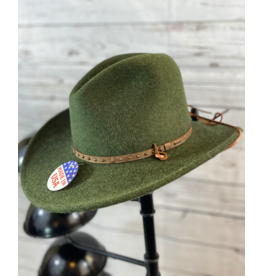 Stetson Hats Lonesome Trail Crushable Hat