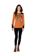 Double D Double D Honky Tonk Cowgirl Tee