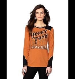 Double D Honky Tonk Cowgirl Tee