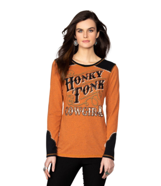 Double D Ranch Honky Tonk Cowgirl Tee