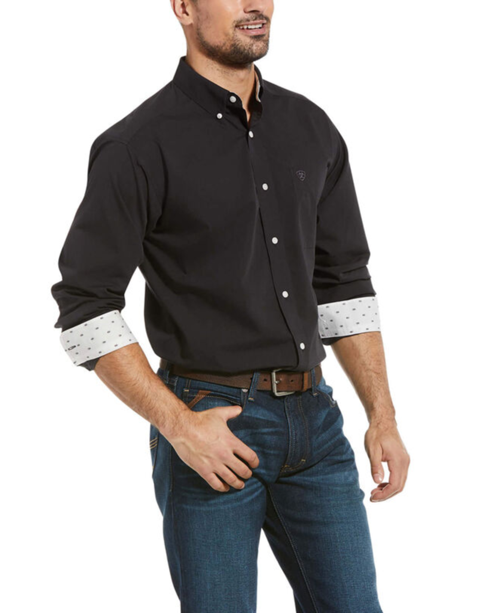 Ariat Ariat Wrinkle Free Solid Oxford Classic Shirt