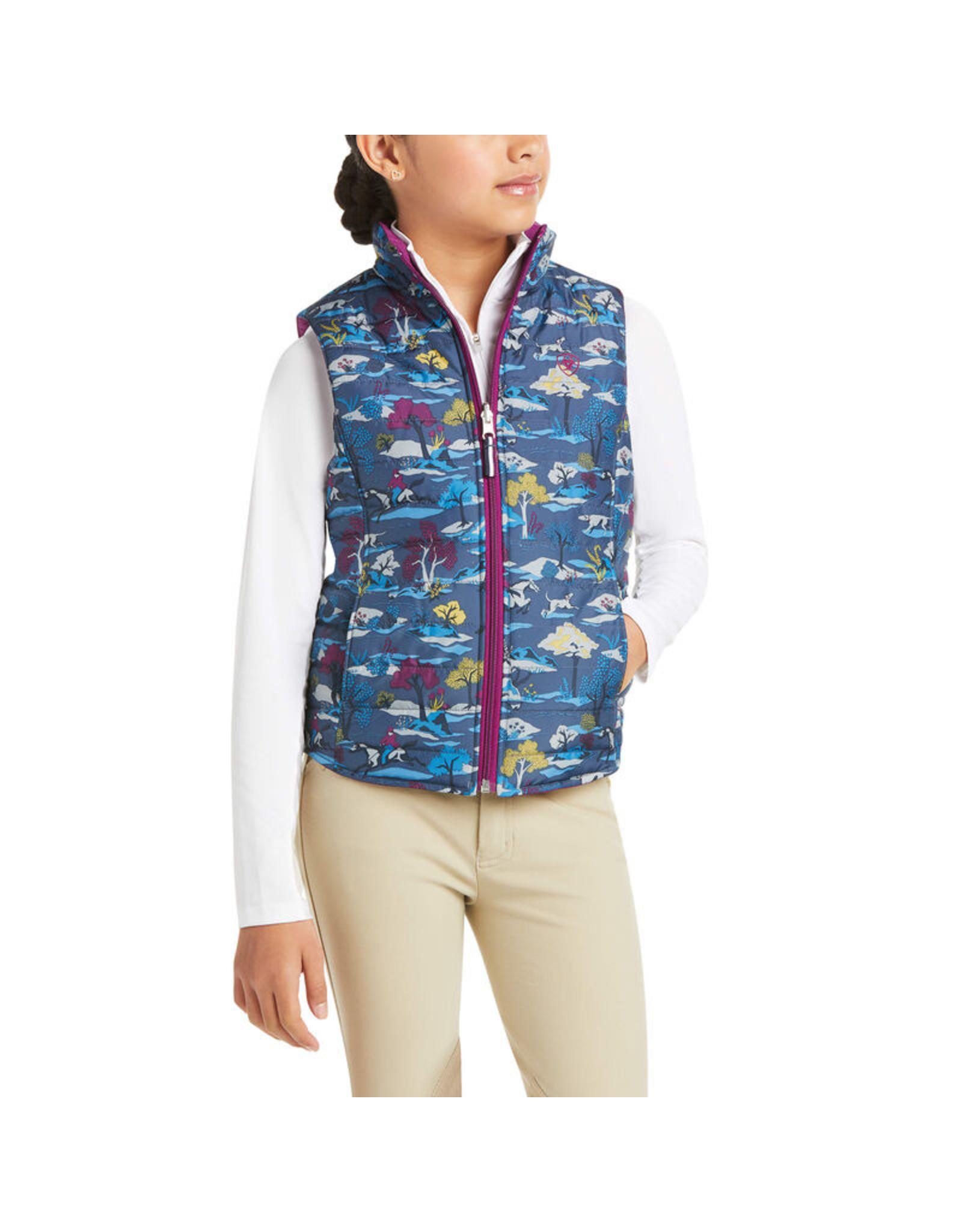 Ariat Ariat Girls' Emma Reversible Insulated Vest