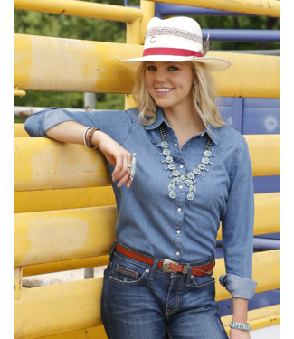 Cinch Chambray Western Shirt