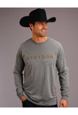 Stetson & Roper Apparel Stetson LS Print Tee