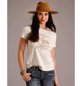 Stetson & Roper Apparel Bucking Cowgirl Tee
