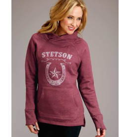 Stetson & Roper Apparel Asymmetrical Fleece Hoodie