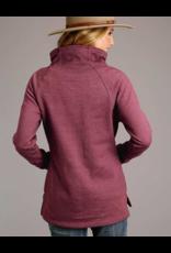 Stetson & Roper Apparel Stetson & Roper Apparel Asymmetrical Fleece Hoodie