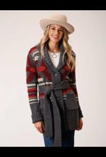 Stetson & Roper Apparel Stetson & Roper Apparel Aztec Knit Sweater