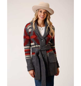 Stetson & Roper Apparel Aztec Knit Sweater