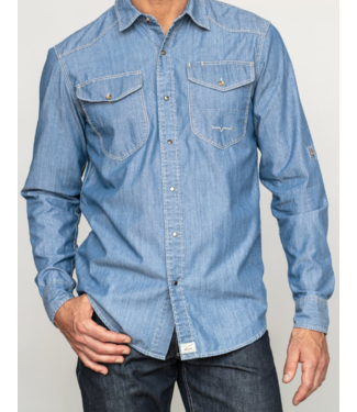 Kimes Ranch Men's Rock Chambray Shirt