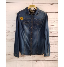 Montana Clothing Co Tahoe Top Denim Button Up