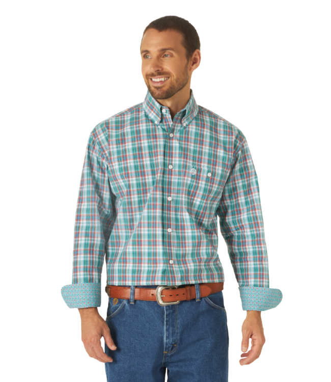 Wrangler George Strait Plaid Shirt