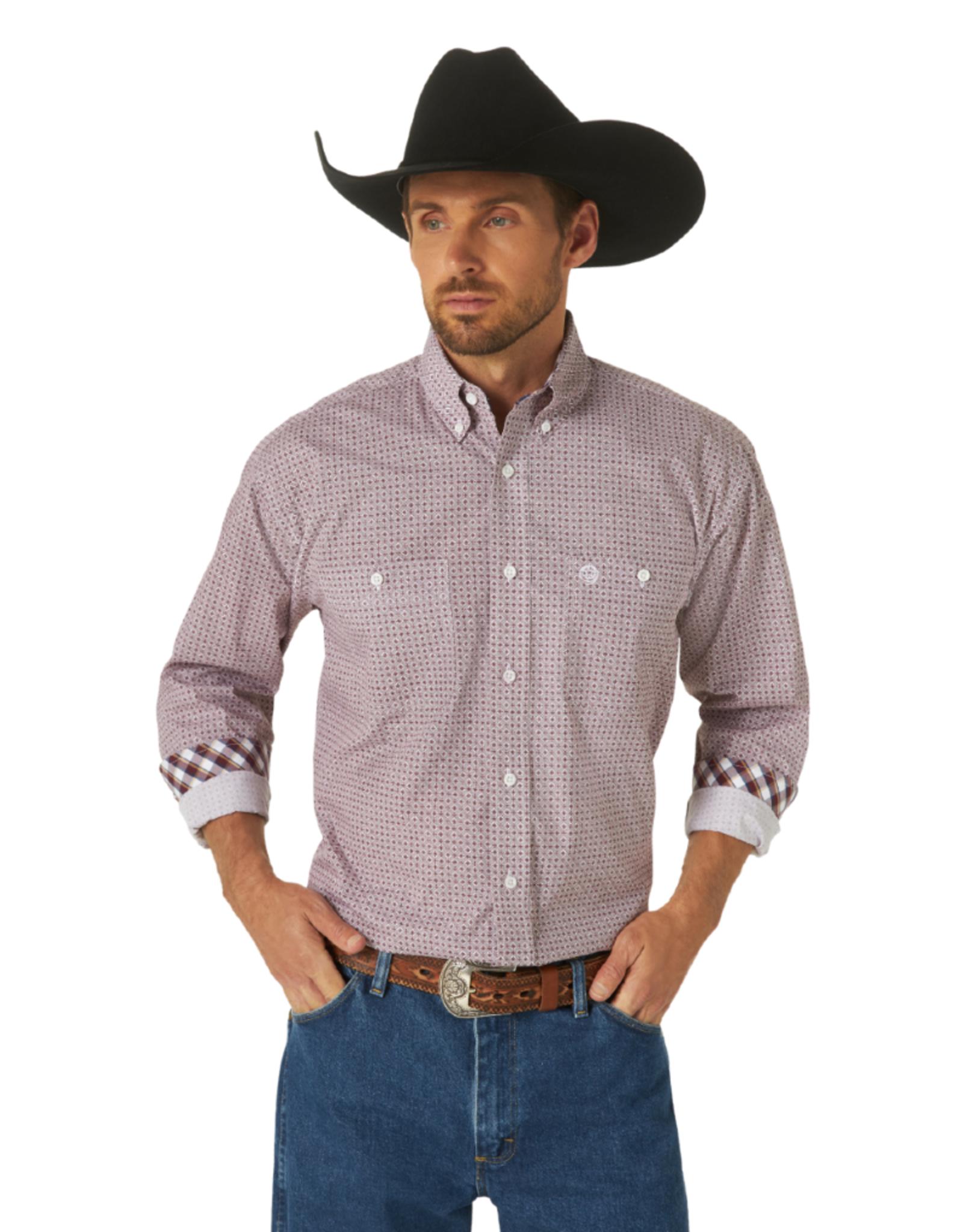 Wrangler Wrangler GS 2-Pocket Print Shirt