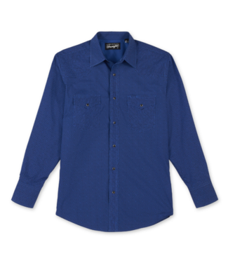 Wrangler Silver Edition Classic Fit Print Shirt