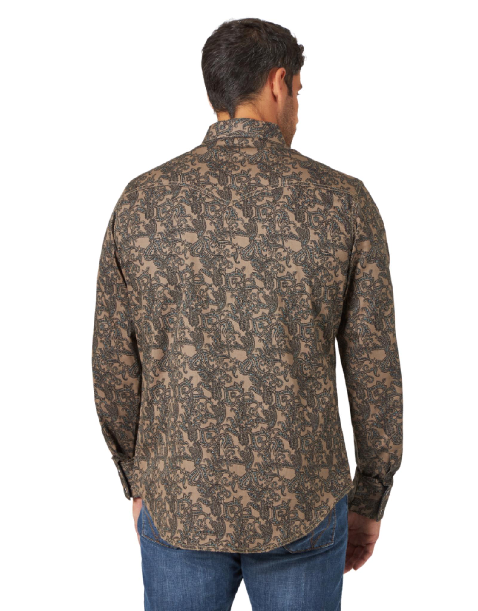 Wrangler Wrangler Retro Premium Paisley Print Shirt