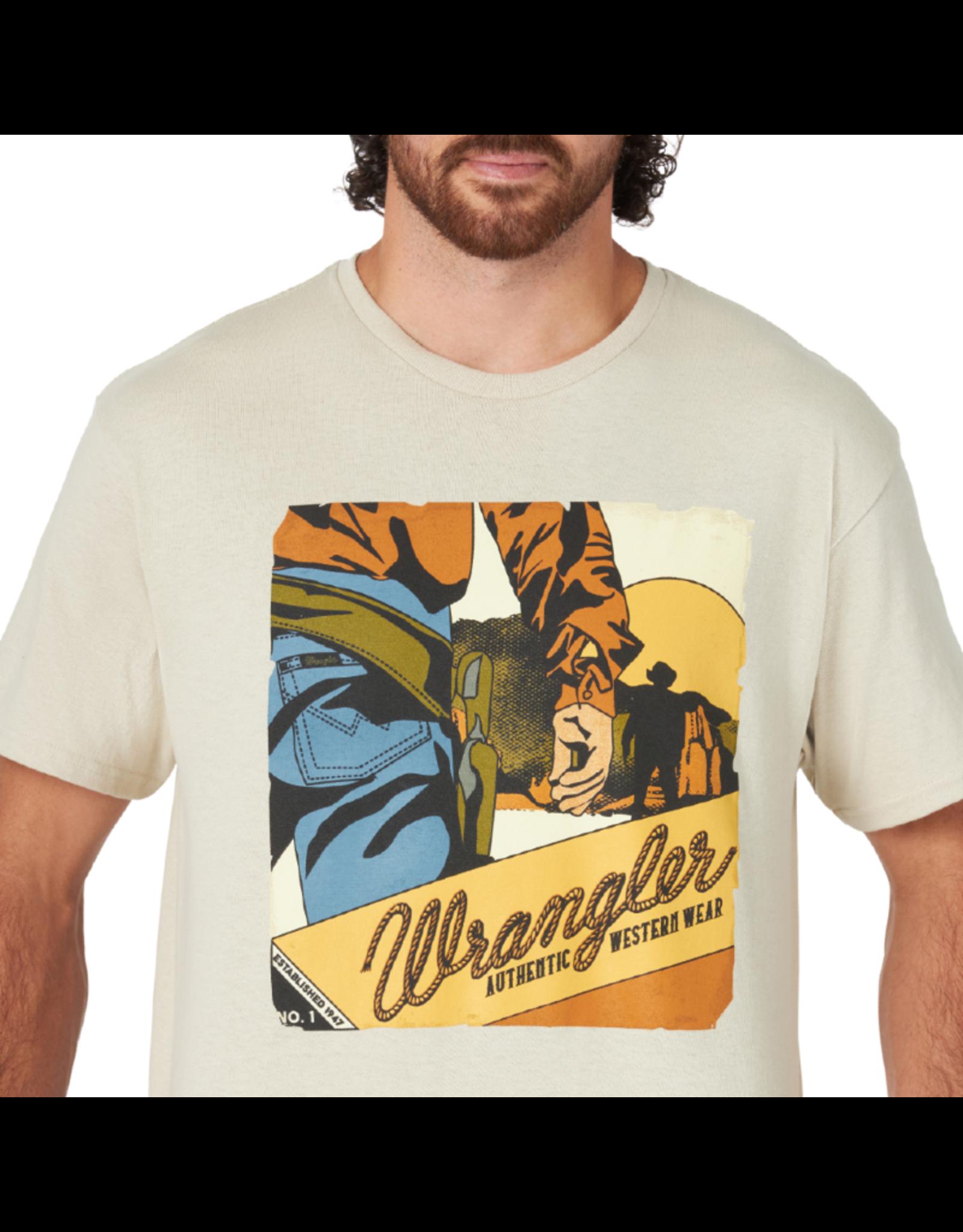 Wrangler Wrangler Graphic Print Tee