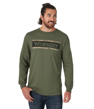 Wrangler Long Sleeve Logo Tee