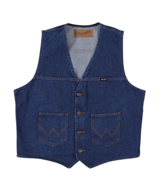 Wrangler Denim Unlined Vest