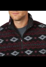 Wrangler Wrangler 1/4 Zip Sherpa Print Pullover