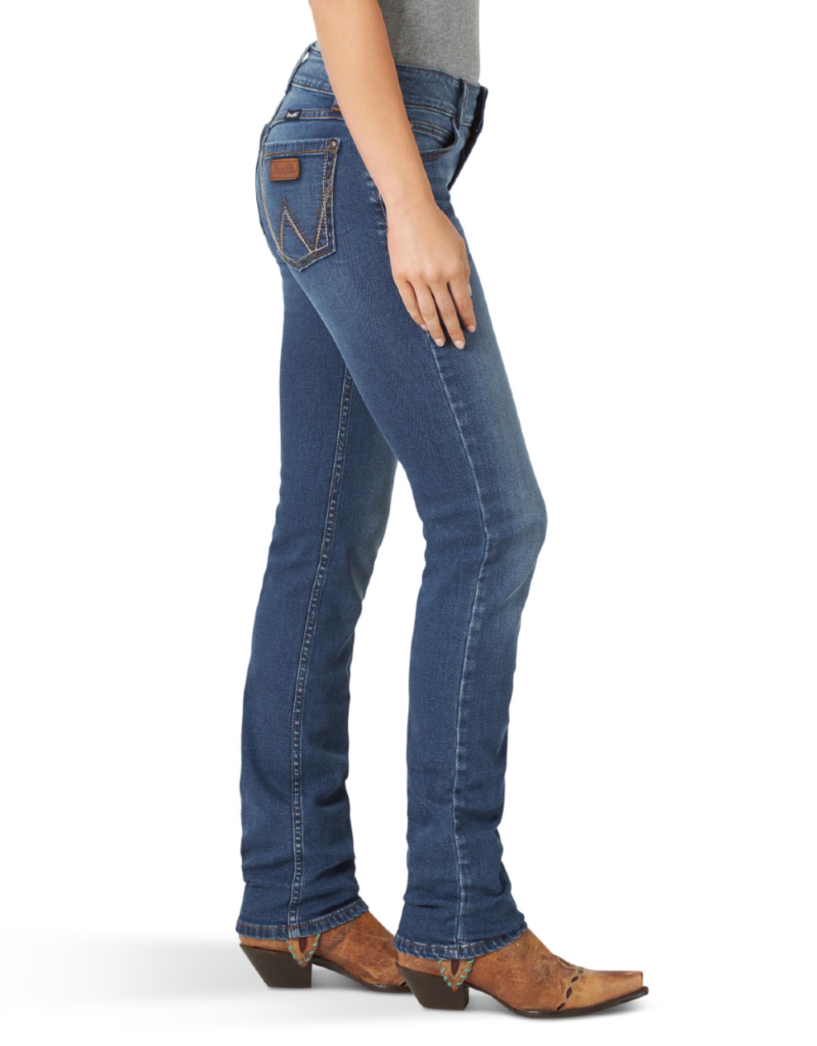 Wrangler Wrangler Mae Retro Mid Rise Straight Jeans