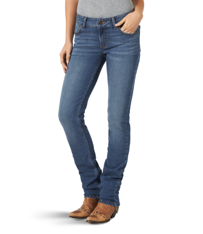 Wrangler Mae Retro Straight Leg Jean