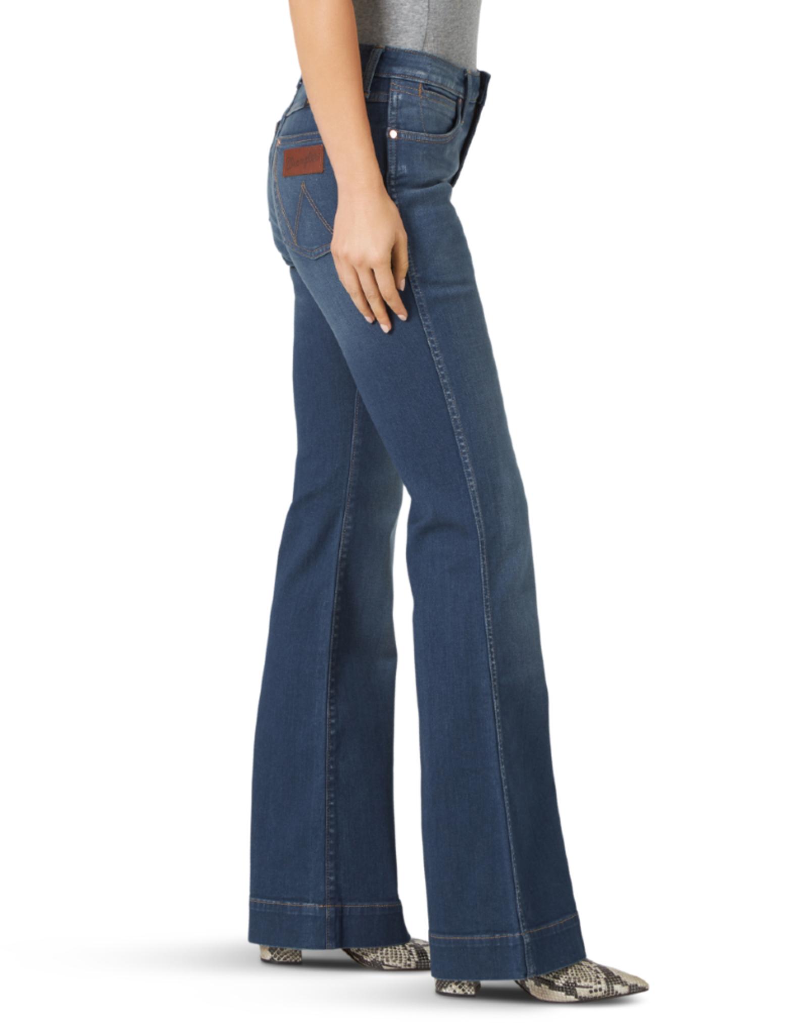 Wrangler Wrangler Retro Premium High Rise Trouser