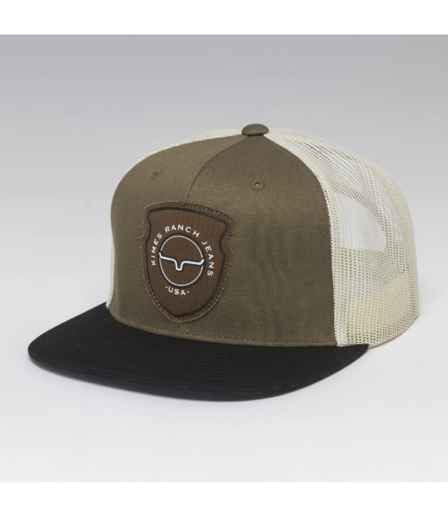 Kimes Ranch Relative Trucker Cap, Army