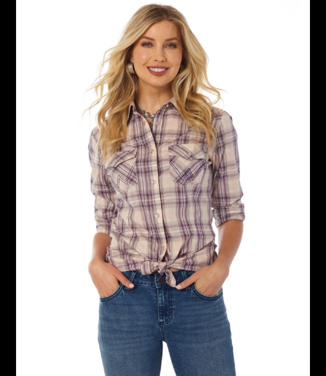 Wrangler Western Plaid Shirt