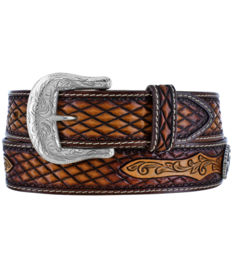 "Brighton Unisex Decatur Diamond 1 1/2"" Belt"
