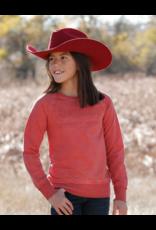 Cinch Cinch Girls' Long Sleeve French Terry Sweatshirt