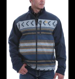 Cinch Color Block Aztec Softshell Jacket