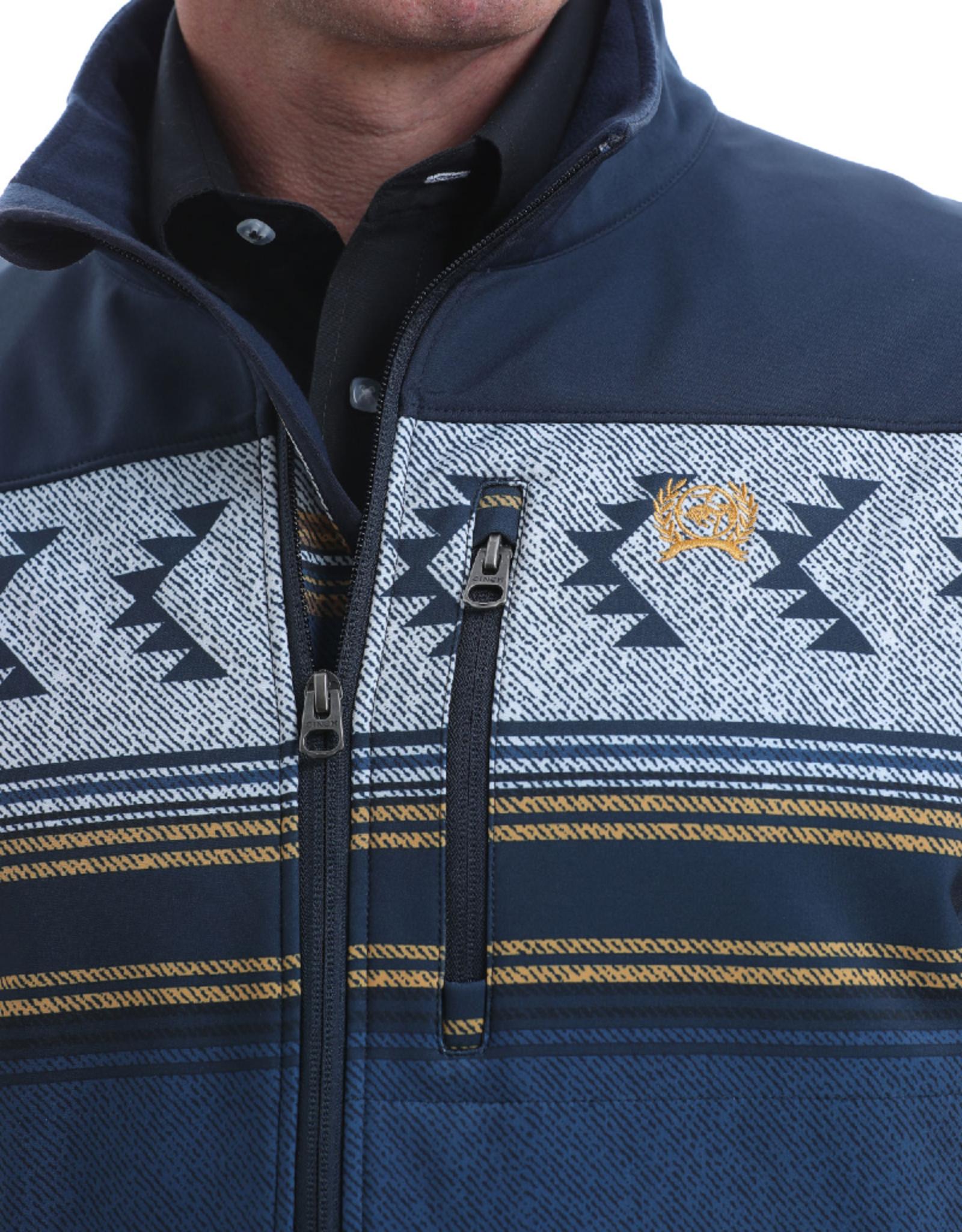 Cinch Cinch Color Block Aztec Softshell Jacket