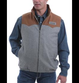 Cinch Color Block Conceal Carry Wool Vest