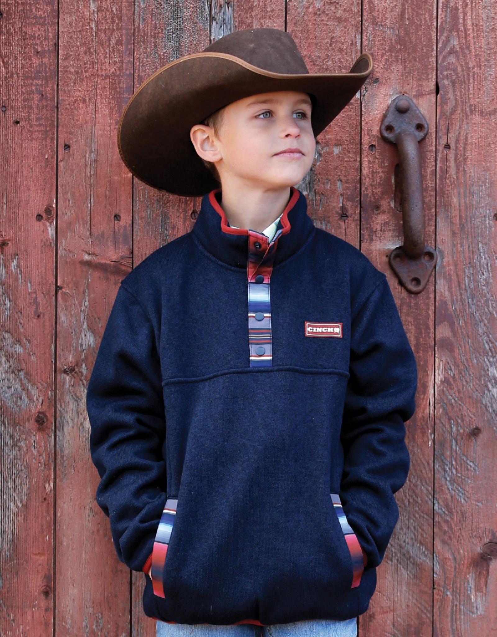 Cinch Cinch Boys' Heavyweight Sweater Knit Pullover