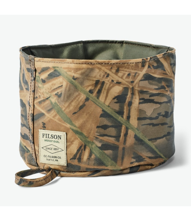 Filson Camo Dog Bowl