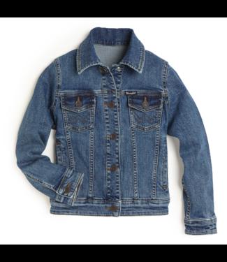Wrangler Girls Trucker Snap Jacket