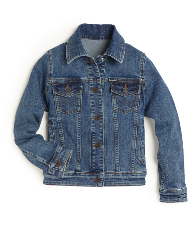Wrangler Kids Trucker Snap Jacket