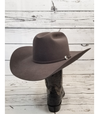 Greeley Hat Works Cattleman Felt Hat, Gun Metal Gray