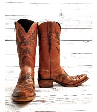 Lucchese Classics Tan Goat Boots