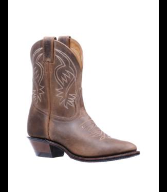 Boulet Short Cowboy Toe Rider Sole Boots