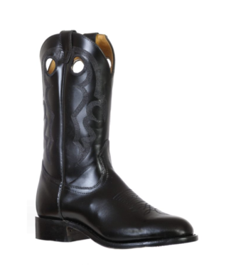 Boulet Round Toe Rider Sole Boots