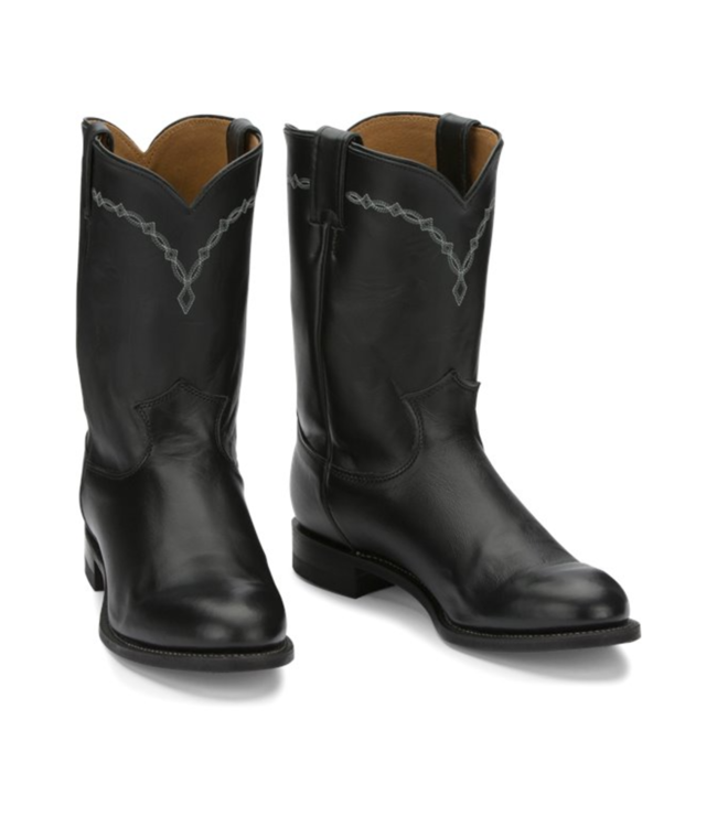 Justin Brock Cowhide Roper Boots