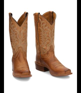 "Justin Hank 12"" Square Toe Boots"