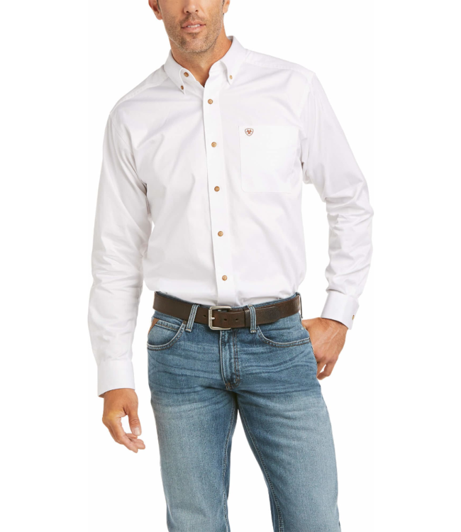Ariat Solid Twill Fitted Shirt