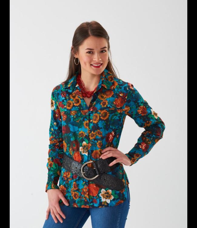 Montana Clothing Company Floral Shirt