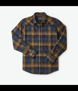Filson Western Flannel Plaid Shirt