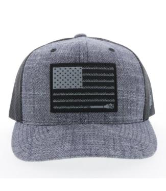 Hooey Liberty Roper Youth Cap, Navy/Black